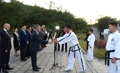 Torch for martial arts games lit in Pyongyang