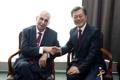 Présidents sud-coréen et tchèque