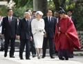 일왕, 일본서 고구려 왕족 모시는 '고마신사' 참배