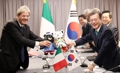 イタリア首相と首脳会談