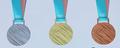 平昌五輪のメダル公開