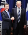 Cumbre bilateral entre Moon y Trump