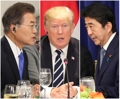 Los líderes de Seúl, Washington y Tokio discuten sobre Corea del Norte