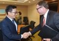 S. Korean finance minister downplays N.K. risks