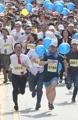 IT biz people take part in necktie run