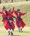 Military service exam of Joseon Dynasty re-enacted