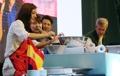 El embajador de España en el festival de 'vida lenta'