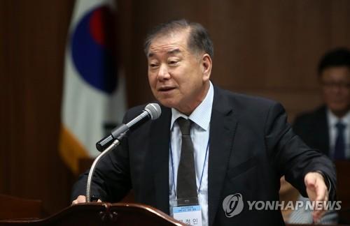 """문정인 특보 """"남북관계 개선이 가장 중요한 평화위기 해법"""""""