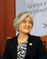 La canciller urge a Pyongyang a dialogar
