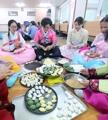 Preparándose para la festividad de Chuseok