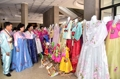 Clothing exhibition in N. Korea