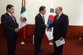 Corea del Sur dona US$1 millón para la restauración de México tras los terremotos