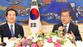 El presidente Moon Jae-in