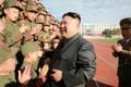 Kim Jong-un à l'Ecole révolutionnaire de Mangyongdae