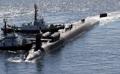 米原子力潜水艦 釜山に入港