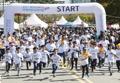 Mini maratón de niños