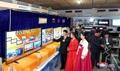 Feria de bienes de consumo en Corea del Norte