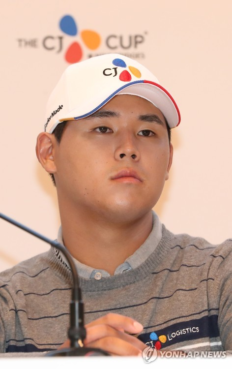 "PGA  김시우 ""일단 새 시즌에 1승 거둬야죠"""