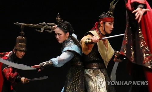사랑과 농경의 신 '자청비' 무용 상설공연…야간 관광상품화