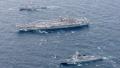 Un superportaaviones de EE. UU. llega a Busan tras el ejercicio conjunto