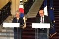 Chefs des diplomaties sud-coréenne et française