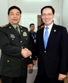 Chefs des défenses sud-coréenne et chinoise