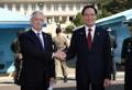 韓米国防相が板門店訪問