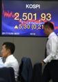 総合株価が最高値 初の2500突破