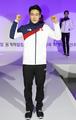 Traje olímpico de la delegación surcoreana