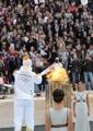 Se enciende la llama olímpica
