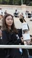 Kim Yu-na con la antorcha olímpica