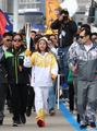 平昌五輪聖火リレー 韓国内で開始