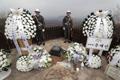 Cérémonie d'inhumation d'un ancien combattant français