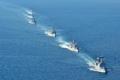 韓豪海軍が合同海上訓練