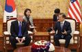 韓米首脳が会談
