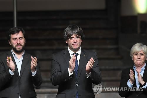 벨기에 법원, 푸지데몬 스페인 송환 여부 결정 내달 4일로 미뤄
