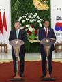 韓国・インドネシア首脳会談