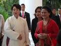 Primeras damas de Corea del Sur e Indonesia