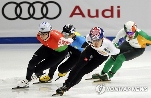 S. Koreans cruise through heats on Day 1 at Short Track World Cup