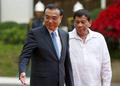 """中·필리핀 '밀착'…리커창 """"양국관계 더는 '겨울' 없을 것"""""""