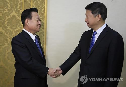 """北 """"中시진핑 특사, '북중 친선관계 계속 발전' 강조"""""""