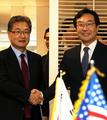 韓米の6カ国協議代表が会談