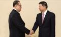 Emissaire spécial de Xi avec Ri Su-yong