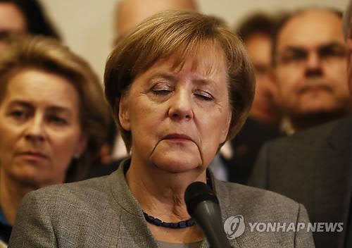 독일정계 '시계제로' 진입…메르켈 연정 실낱희망 실현될까