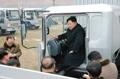 Kim Jong-un dans un camion