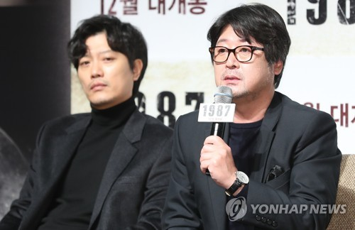 """'1987' 김윤석 """"이 영화, 만들어져야 한다고 생각했다"""""""