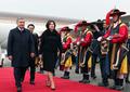 Le couple présidentiel ouzbek