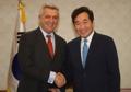 PM et haut commissaire de l'UNHCR