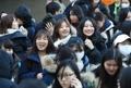 ابتسامات الانتهاء من امتحانات دخول الجامعات