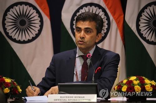 """인도, 시리아 공습에 유보적 태도…""""대화와 협상으로 해결해야"""""""